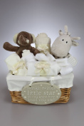 Unisex Baby Boy Girl Elli and Raf Hamper Gift Basket Baby Shower Present