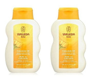 (2 PACK) - Weleda Baby Lotion | 200ml | 2 PACK - SUPER SAVER - SAVE MONEY