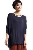 Voguees Women's Autumn Long Sleeve Basic Casual Shirt
