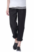 Sweet Mommy Maternity Tapered Cotton Chino Trousers