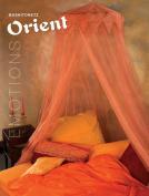 Decorative Bed Canopy - Mosquito net - 2.5 x 12 m - Orange