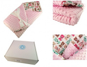 Meg's Handcraft Hand Made Premium Quality Newborn swaddle blanket wrap horn 3 in1