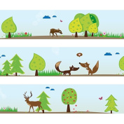 """Wandkings border """"Forest Animals"""" length"""