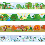 """Wandkings border """"Owls and Foxes"""" Length"""