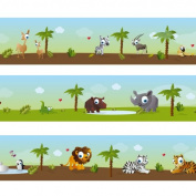 "Wandkings border ""Small zoo animals"" Length"