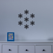 Snowflake Two Vinyl Wall Art Decal Pack