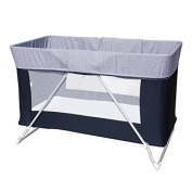 Baby Cot Yuppy Go Removable Colour Blue