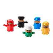 IKEA LILLABO - Toy figure / 5 pack / 5 pack