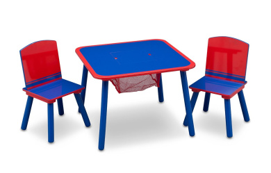 Delta Children Table and Chair Set (Blue/Red)