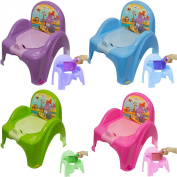 Childrens Potty Chair Easy Clean Kids Toddler Training Toilet Seat Animal