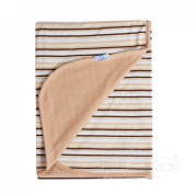 Soft Swaddle Cosy Cotton TWO-SIDED MAT BLANKET INES Newbord Baby Infant Boy Girl Cuddle