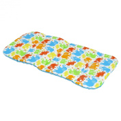 REVERSIBLE cotton & minky Pram INSERT, LINER covers Universal