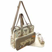 3 Pc. Baby Nappy Bag Nappy bag Beige, Travel - Multiple Colours Available