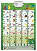 Game Poster for beginners learning GERMAN / talking ABC / phonetic educational / interactiv