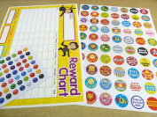 Children's, Kids' Reward Charts & Stickers to Praise & Reward Good Behaviour - For Teachers & Parents
