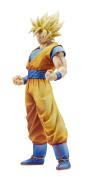 Banpresto Dragon Ball Z Master Stars Piece the Son Goku Action Figure, New Paint Version