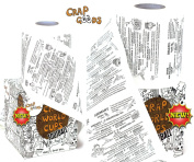 Crap Goods (FOOTBALL) Man Gifts Xmas Gifts Stocking Filler Novelty Gifts for Men Quizzes Trivia Gift Ideas for Men Birthday Gifts Funny Christmas Gifts for Dad Presents for Men