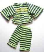 Living Puppets W657 Hand doll pyjamas