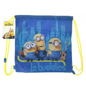 OFFICIAL DESPICABLE ME 2 MINIONS GYM BAG PE KIDS SCHOOL CHILDRENS SWIMMING KIT