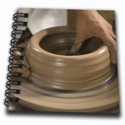 Danita Delimont - Pottery - Nicaragua, Catarina. Pottery wheel and clay - SA14 JME0128 - John and Lisa Merrill - Mini Notepad 10cm x 10cm
