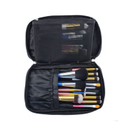 Hotrose® Timed Promotion Multifunctional Makeup Brush Zipper Cosmetic Case for Travel & Home Use