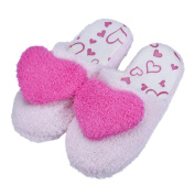 Sunward Indoor Slipper, Lovely Bear / Love Heart Lovers Super Soft & Lightweight Warm Home Floor Slippers Shoes (38
