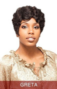 GRETA (SNOW) - VANESSA SYNTHETIC HAIR WIG SHORT WAVY MAMA CURL