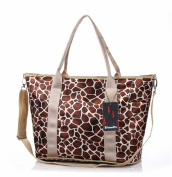 Good & god Baby Nappy Bag Nappy Tote Messenger Changing Bag, Leopard