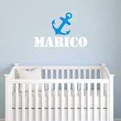 Belongme Custom Name Wall Decal for Babys, Boyfriends, Girlfriends - Kids Nursery or Any Room Wall Decor Vinyl