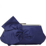 La Regale Fabric W Large Flower Clutch