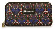 Loungefly Bright Sugar Skull Printed Pebble Wallet