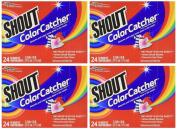 Shout Washer Sheets - 24 ct - 4 pk.