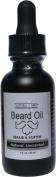 Natural Brio Premium Unscented Beard Oil - Condition, Soften and Repair, 30ml