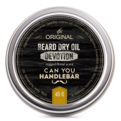 Devotion Beard Dry Oil | Best Natural Balm with Floral Scent| Pairs Perfectly with the CYHB Beard Oil Brush