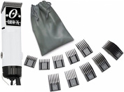 New Oster Classic 76 White Colour Limited Edition Hair Clipper+10 PC Comb Set