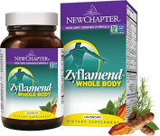New Chapter Zyflamend Vegetarian Capsule, with Turmeric, Herbal Pain Reliever After Exercise*+ 120 ct