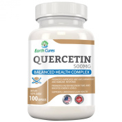 Quercetin 500mg - Joint Relief, Anti-Histamine, Anti-Inflammatory and More