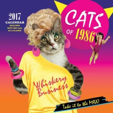 2017 Wall Calendar: Cats of 1986: 2017