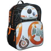 Star Wars Boys' Disney BB-8 Multi Compartment 41cm Backpack