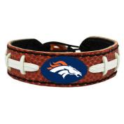 Denver Broncos Official NFL Football Bracelet by Gamewear 003832