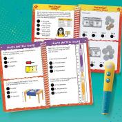 Educational Insights Hot Dots Jr. Let's Master Grade 2 Math