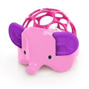 Oball Rollie Rattles - Elephant