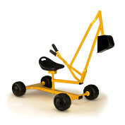 """Metal """"Dig & Swivel"""" Sand Digger with wheels"""