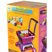 The Learning Journey Play and Learn Shopping Cart Playset, Multi