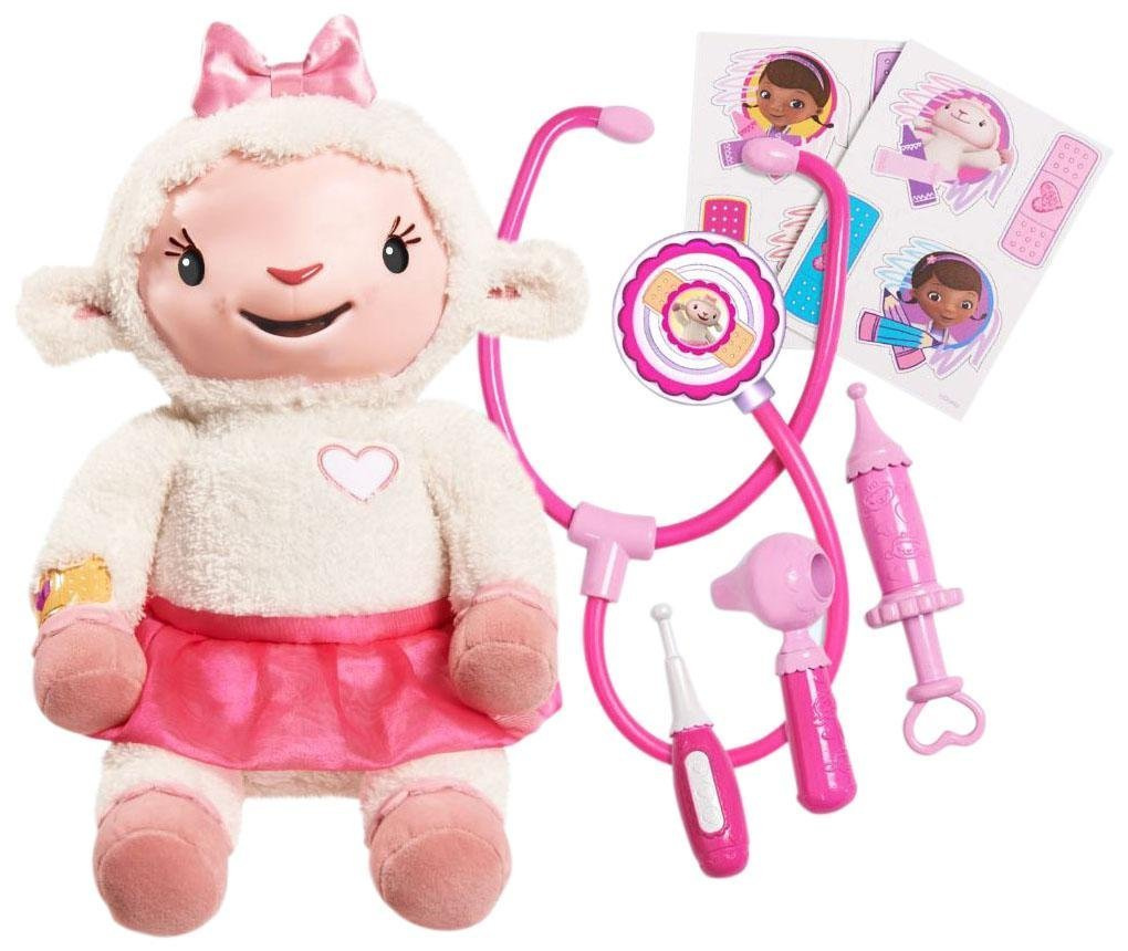 fb42267ac73 Disney Junior Doc McStuffins Take Care of Me Lambie by Just Play ...