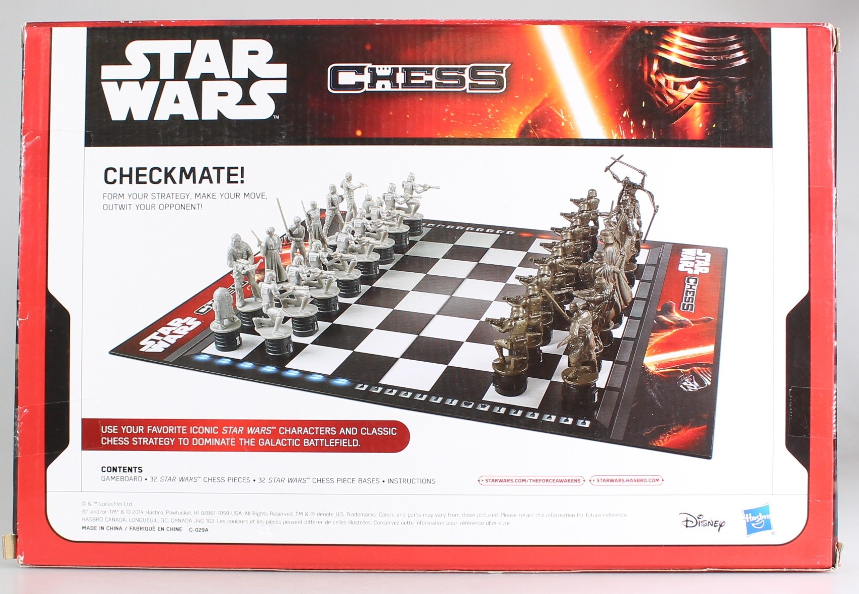 Wars Star Schacchi B2345 Società Giochi Di Hasbro rhsQdt