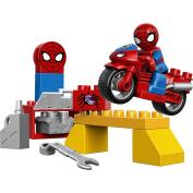 LEGO DUPLO Disney Spider-Man Web Bike Workshop 10607