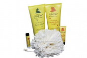 Naked Bee Deluxe Full Size Bath & Body 5 Piece Holiday Gift Set