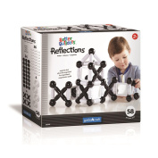 Better Buildres Reflections 59 Piece Set - Black and White