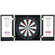 Hathaway Winchester Dartboard and Cabinet Set - Black